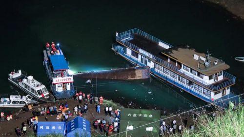 六盤水客船側翻事故,1搜救人員犧牲