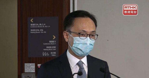 聶德權表示,當局已在全港18區起動,包括健康講座、醫療諮詢及即場打針的安排,為長者接種。(郭志強攝)